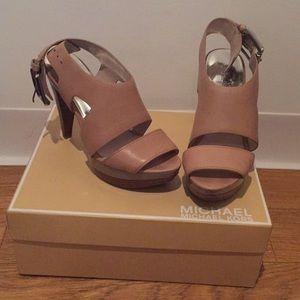 Michael Kors platform heeled sandals